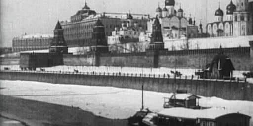 Москва под снегом 1908