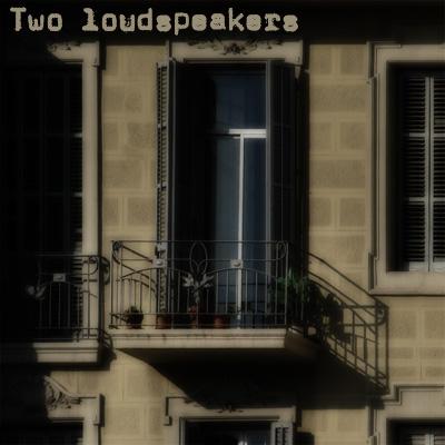 "img 1116 copy - Kunstkamera, KUNS0013, ""Two loudspeakers"""