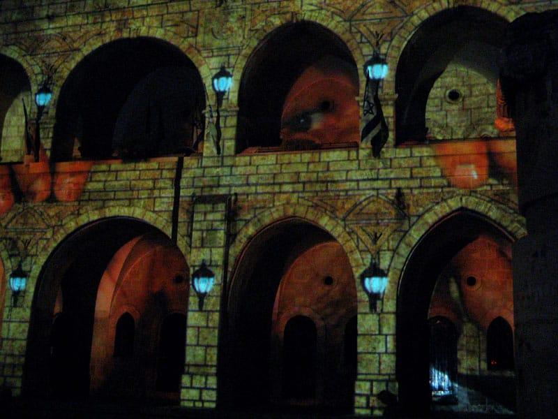 22773 original - Ночной фестиваль Света в Иерусалиме