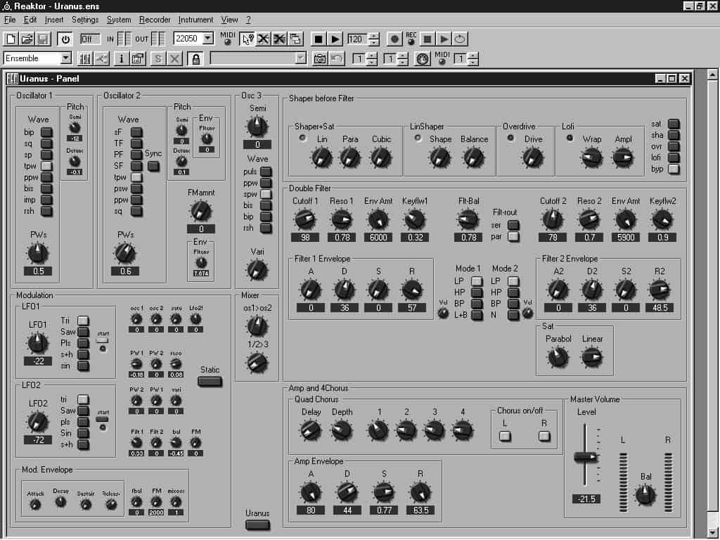 45 - Лекция 8: Виртуальные синтезаторы и сэмплеры: обзор