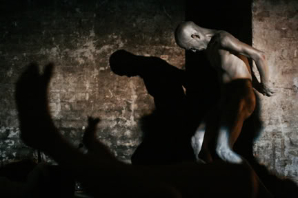 shuntbutoh04 - Beckett Butoh Notation performance 18th October. 10pm