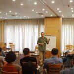 Я на презентации израильских НЛП-мастеров 2002