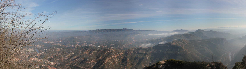 IMG 2221 Panorama - Монастырь Монтсеррат