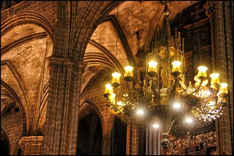 IMG 2465 - Кафедральный собор Барселоны, или 13 белых гусей