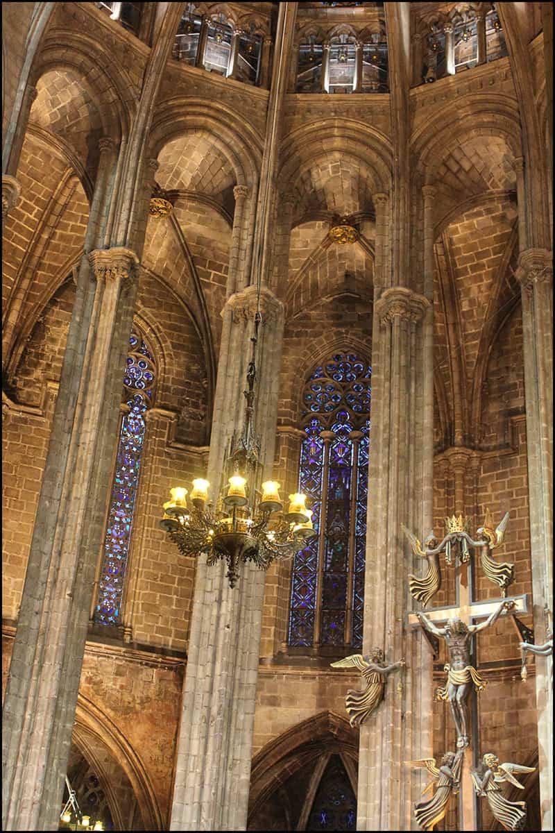 IMG 2467 - Кафедральный собор Барселоны, или 13 белых гусей