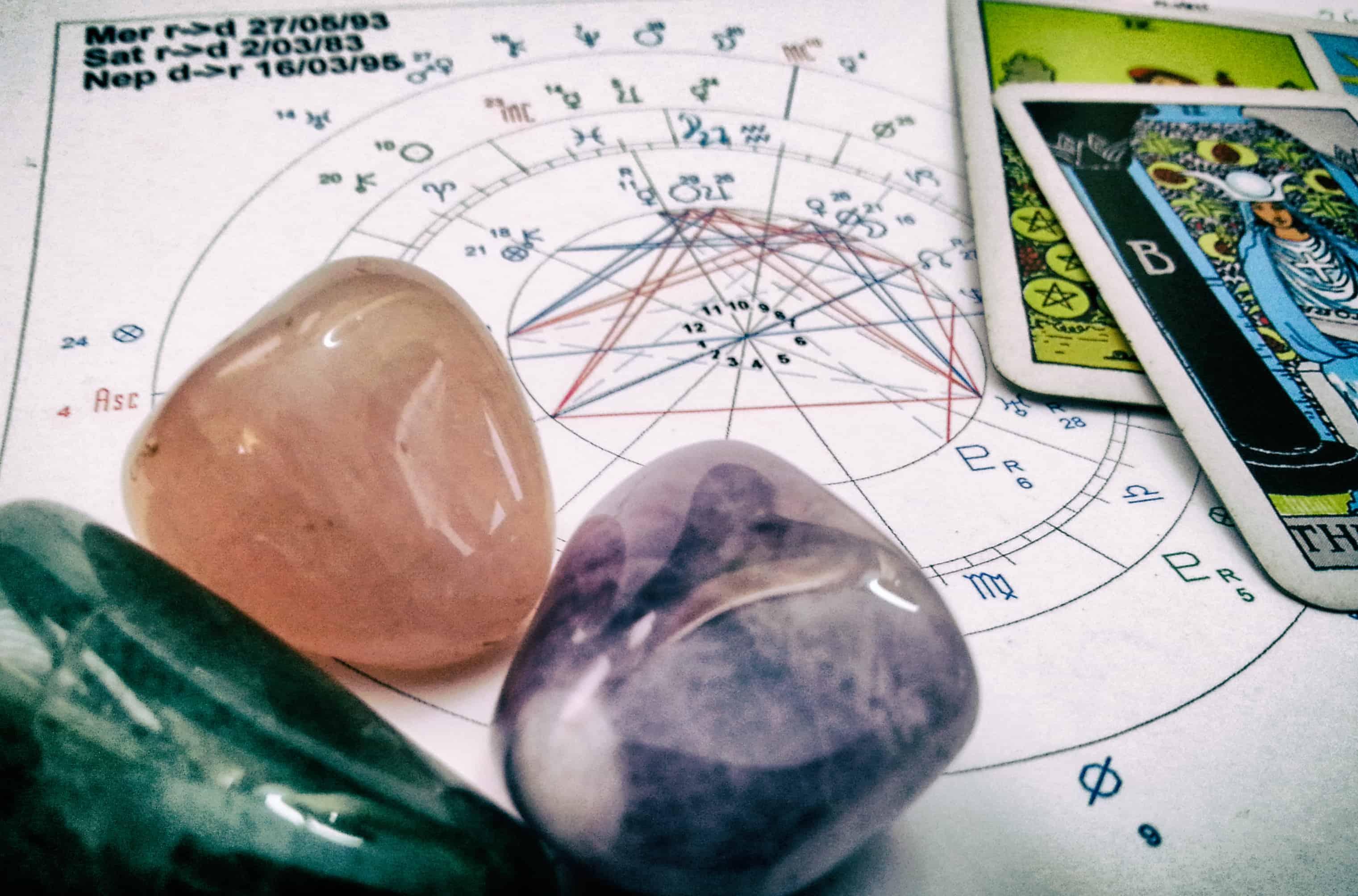 Консультация с помощью Таро и астрологии (1 тема) + Подбор камней для гармонизации