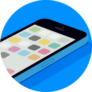 0009 iPhone 5c Blue 300x300 - Аудиотренинг. Как быстро победить телефонофобию?