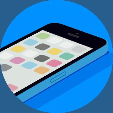 0009 iPhone 5c Blue - Аудиотренинг. Как быстро победить телефонофобию?