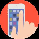 0103 Hand using iPhone 150x150 - Как быстро победить телефонофобию?