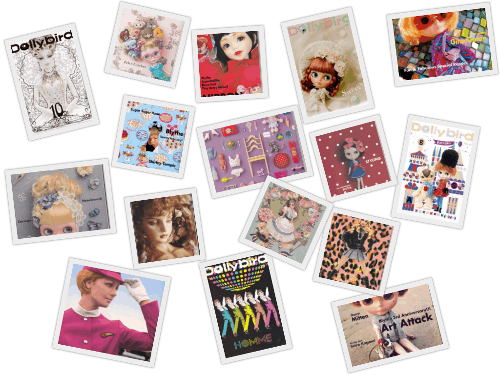 dolly bird collage - Dollybird Bundle (16 magazines)